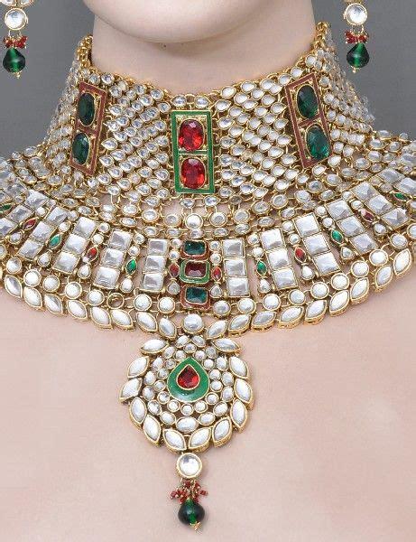 kundan jewellery  artificial kundan bridal