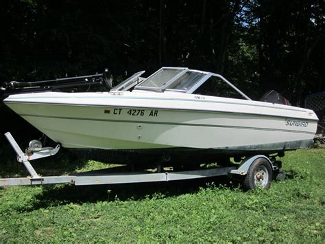 1988 Sunbird Corsair Boat by Sunbird Corsair 170 F S 1994 For Sale For 3 700 Boats