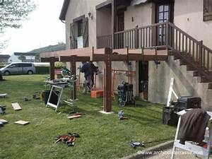 cout terrasse bois co t terrasse bois sur graviers 15 With cout d une terrasse en bois