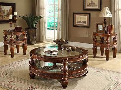 Living Furniture Traditional Formal Coffee Tables Table