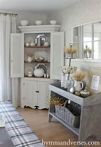 Küche Gemütlich Einrichten : cottage style fall home tour k che im landhausstil pinterest haus esszimmer und landhaus ~ Markanthonyermac.com Haus und Dekorationen
