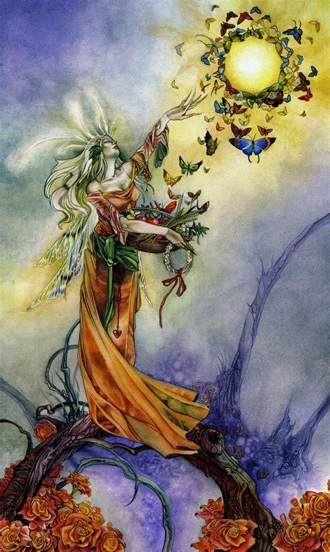 empress   shadowscapes tarot tarot art