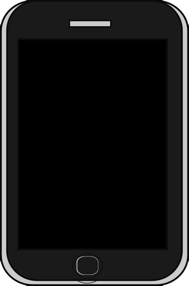 Iphone Clipart Iphone Clip At Clker Vector Clip