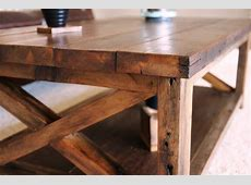 Rustic Wood Coffee Table Finishing Thelightlaughedcom