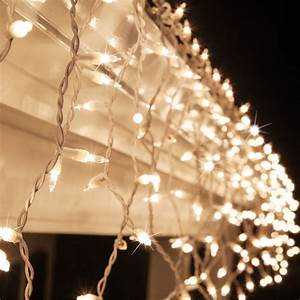 Holiday Time Rope Lights Christmas Icicle Light 150 Clear Twinkle Icicle Lights