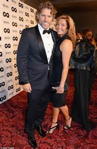 Funny guy: Comedian John Bishop (L) and wife Melanie ...
