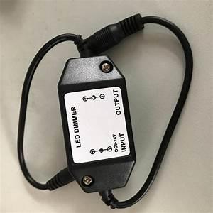 12v 24v 6a Manual Switch  Led Manual Dimmer For Led Strip