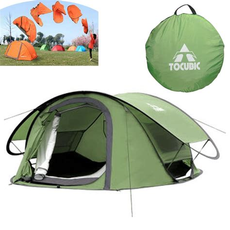 tenda pop up jual tenda gunung pop up tocubic 3 4 person tenda dome