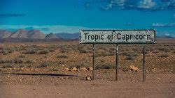 The tropic of cancer is on the top of the equator, you can remember its on top because can comes before cap alphabetically. Why Is the Tropic of Cancer Important? | HowStuffWorks