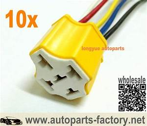 China Customized Ceramic 5 Pin Dc 12v Spdt Automotive Car