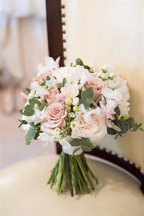 beautiful pink country house wedding floral art