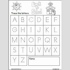 Uppercase Letter Tracing  Back To School Madebyteachers
