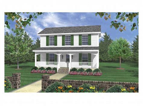 2 Bedroom, 2.5 Bath House Plan With 1-car Garage