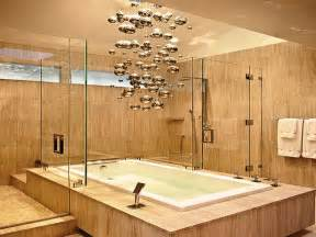 how to choose the bathroom lighting fixtures for large spaces