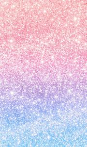 Download premium vector of Pink and blue glittery pattern ...