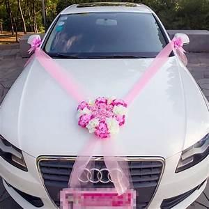 Noeud De Voiture Mariage : kit de d coration de voiture mariage luxe fushia rose blanc 8 pi ces voiture de mari s ~ Dode.kayakingforconservation.com Idées de Décoration