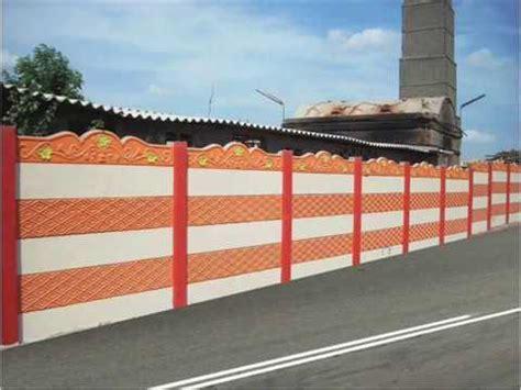 precast concrete walls readymade compound wall youtube