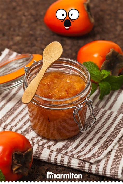 confiture de kaki fruit du plaqueminier recette