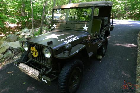 willys army jeep 1952 willys m38 military army jeep rotisserie