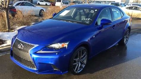 blue lexus 2015 new blue on black 2015 lexus is 350 4dr sdn awd f sport