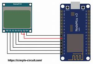 Interfacing Esp8266 Nodemcu With Nokia 5110 Lcd