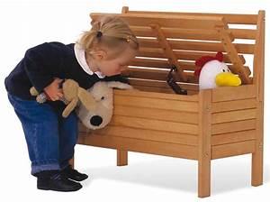 Banc Rangement Enfant : banc avec rangement jouets ~ Teatrodelosmanantiales.com Idées de Décoration