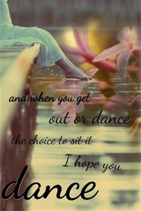 hope  dance quotes quotesgram