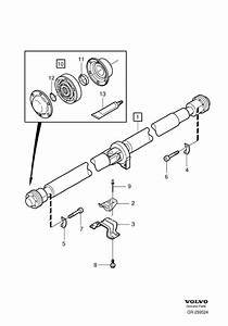 2004 Volvo Xc90 Propeller Shaft
