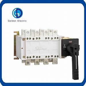 China Ac 220v 380v Dual Power Mts Changeover Switch Manual