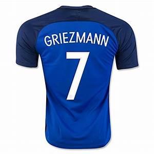 Maillot Griezmann France : france 2016 euro tasse griezmann 7 home jersey de football ~ Melissatoandfro.com Idées de Décoration