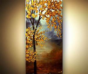 Abstract Tree Paintings | Original Abstract Art - Modern ...