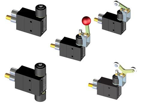 Air Switch Valve Stainless Steel Valves Solenoid