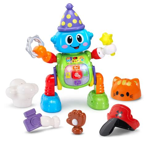 vtech launches new baby infant and preschool learning 336 | Vtech Bizzy the Mix Move Bot Charm Posh