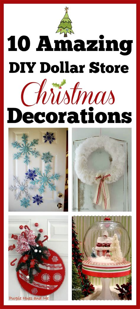 diy dollar store holiday decorations