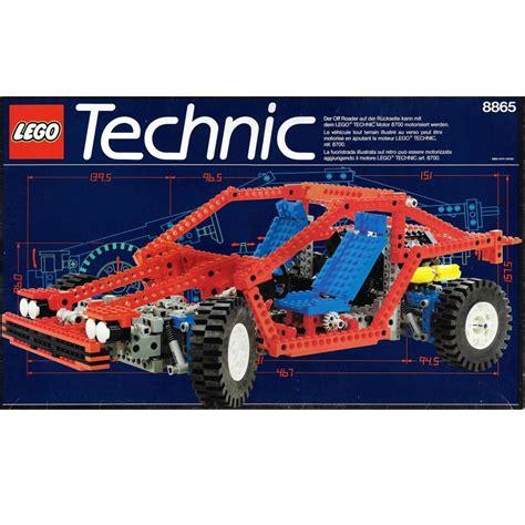 Technics Lego Car by Lego Technic 8865 Test Car Decotoys