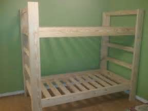 Inexpensive Loft Bed Plans by Twin Bunk Beds Jays Custom Creations