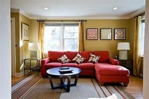 Rotes Sofa Welche Wandfarbe : farbvorschl ge wohnzimmer die sie vielleicht inspirieren bilder ~ Bigdaddyawards.com Haus und Dekorationen