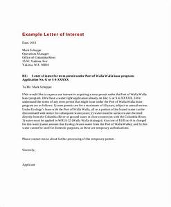 Research Job Cover Letters Letter Of Interest 12 Free Sample Example Format