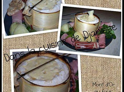 cuisson du mont d or au four 28 images recettes 224 base du fromage mont d or les recettes