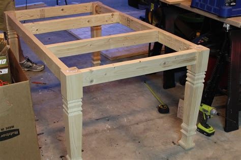 diy dining table plans diy farmhouse table free plans rogue engineer