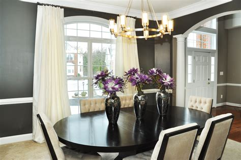 dining room centerpieces ideas window treatments for country style home intuitive