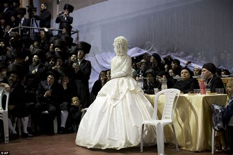 Ultra Orthodox Jewish Wedding In Israel Sees Thousands Of