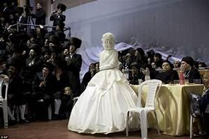 ultra orthodox jewish wedding in israel sees thousands of With orthodox jewish wedding dress