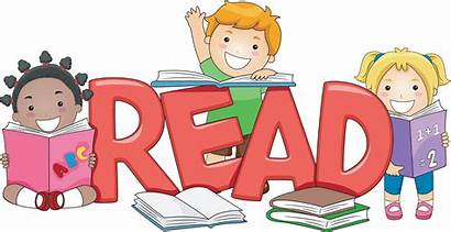 Reading Clipart Clip Child Library Math Walking