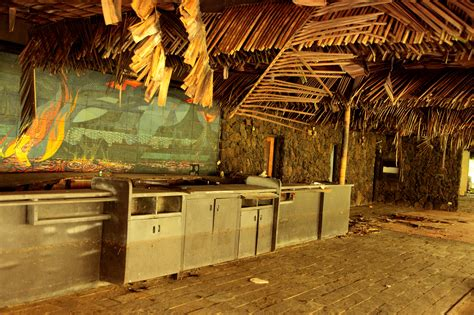 nature  reclaiming  abandoned hawaii resort