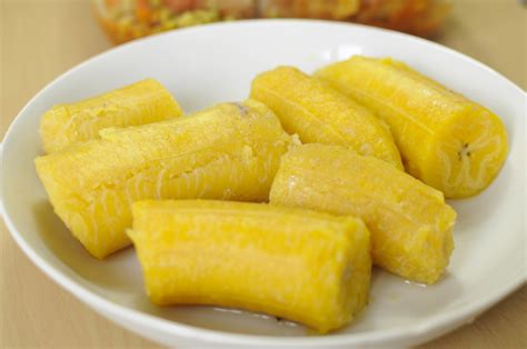 cuisiner des bananes plantain bananes plantains bouillies