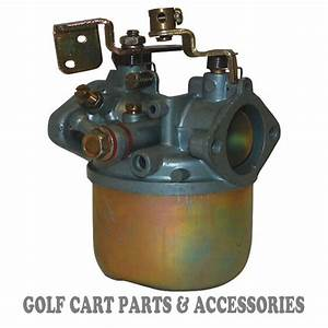 Ezgo Golf Cart Carburetor  2 Cycle  1988 Only  New In Box 2 Stroke Golf Car Part
