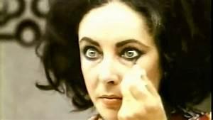 Elizabeth Taylor Double Eyelashes Close Up   www.pixshark ...