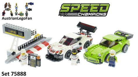 lego speed chions porsche lego speed chions 75888 porsche 911 rsr and 911 turbo 3 0 lego speed build review
