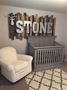 37 ideas to decorate and organize a nursery digsdigs With rustic letters for nursery